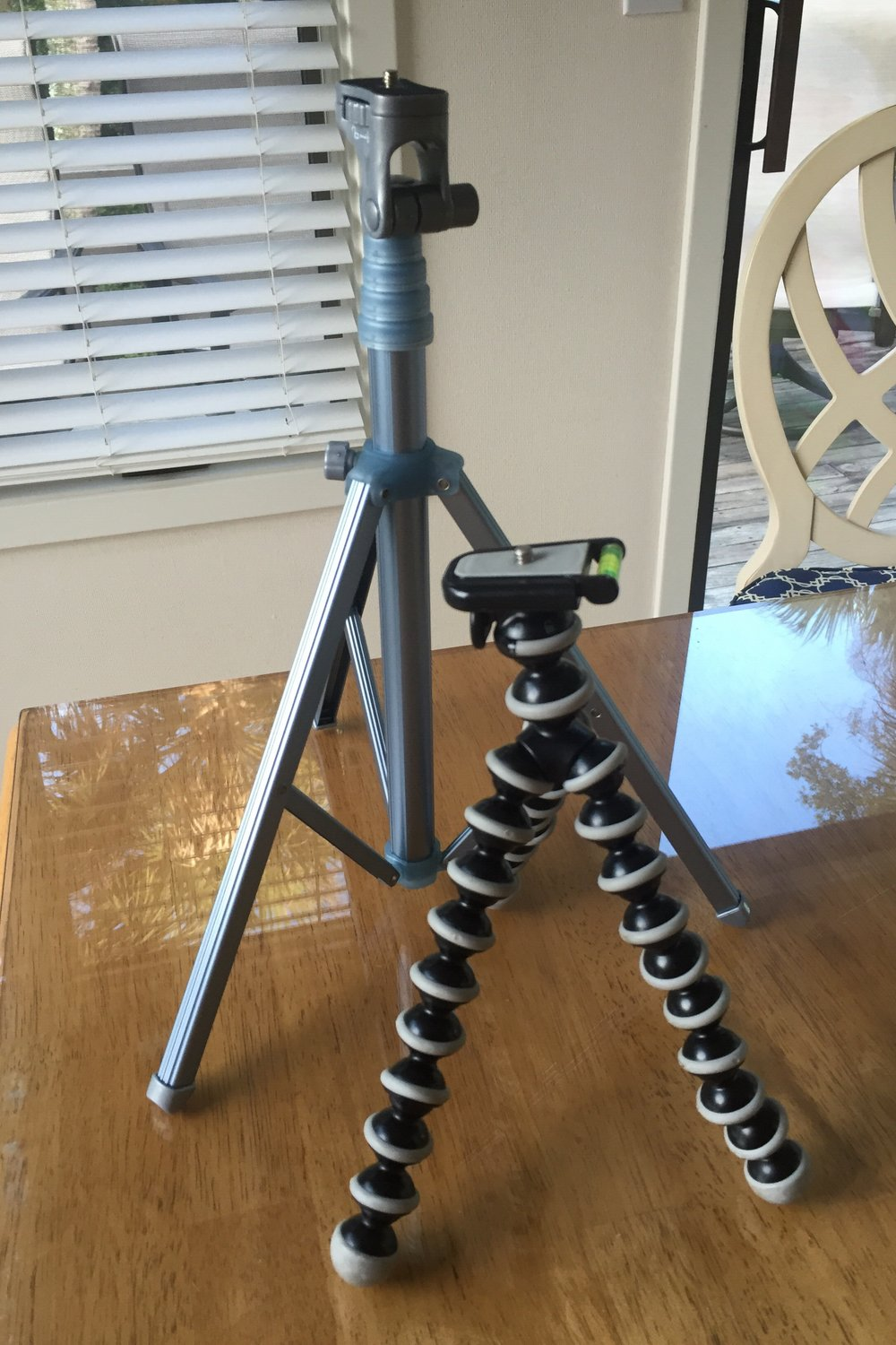 The LolliPod and Joby dSLR GorillaPod