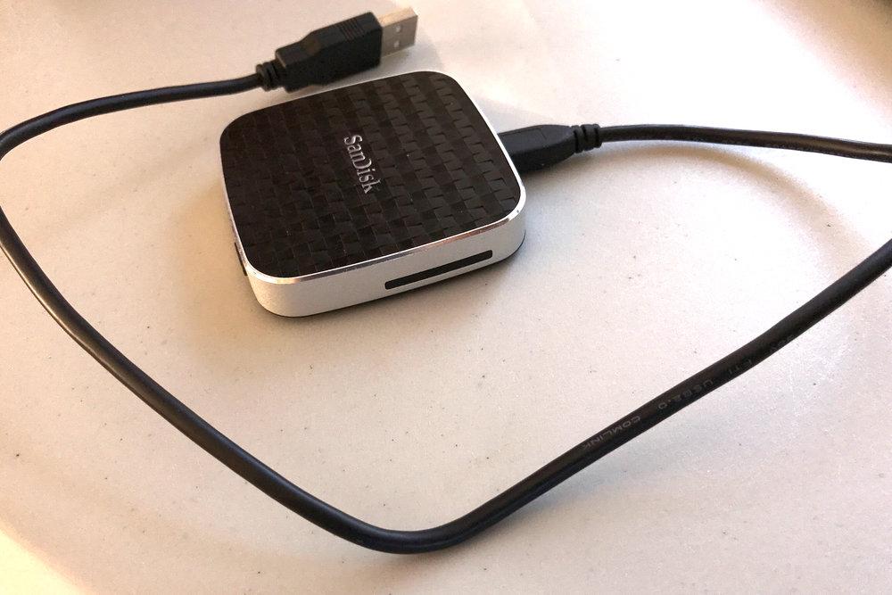 The SanDisk Media Drive