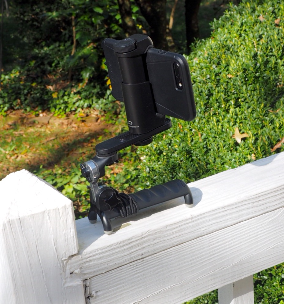 HandlePod on railing