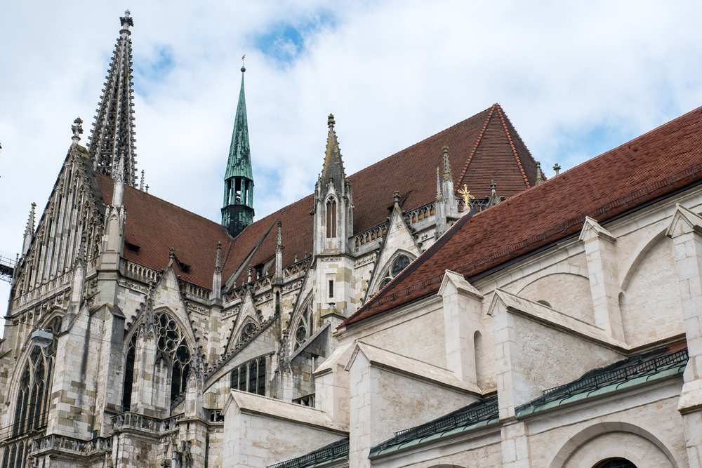 The Regensburg Cathedral