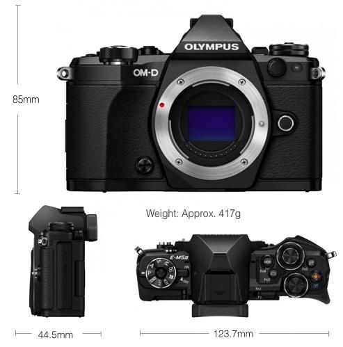 The E-M5 II [Olympus Image]