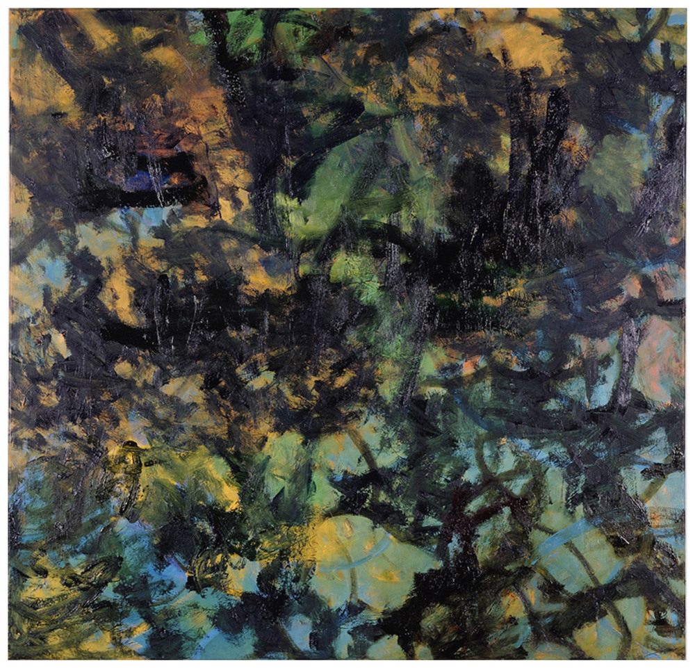 Embark   53 × 55 inches 134 × 140 cm Oil on canvas 2006