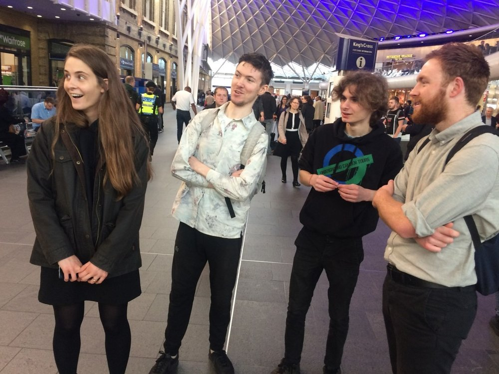 C22 staff being wowed at Kings Cross by TG.jpg
