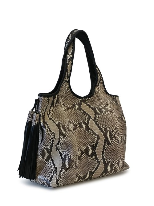 f555a40c4f Anthony Luciano custom Stella Hobo - Glazed Natural Python
