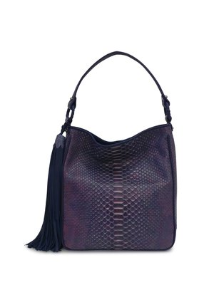 d064bde11ad Anthony Luciano custom Grace Hobo (sm) - Variegated Purple Python ...