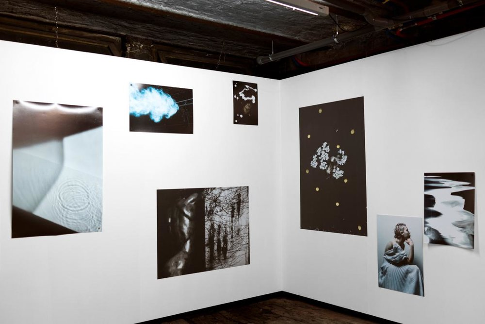 Installation shot of  The Murmurs of Icarus