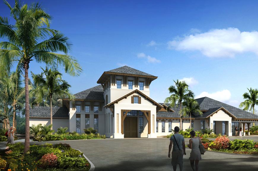 V Starr Interiors For Royal Palm Polo