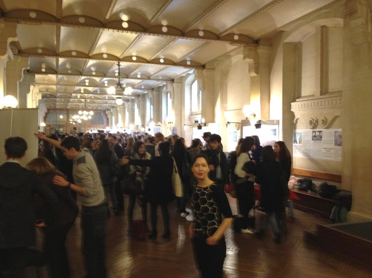 PREVIEW EXHIBITION AT THE SORBONNE