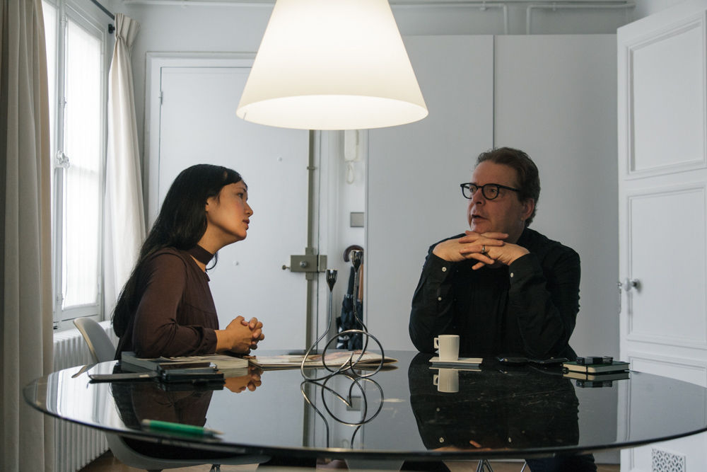 MIA FUNK IN CONVERSATION WITH DOUGLAS KENNEDY IN HIS PARIS APARTMENT