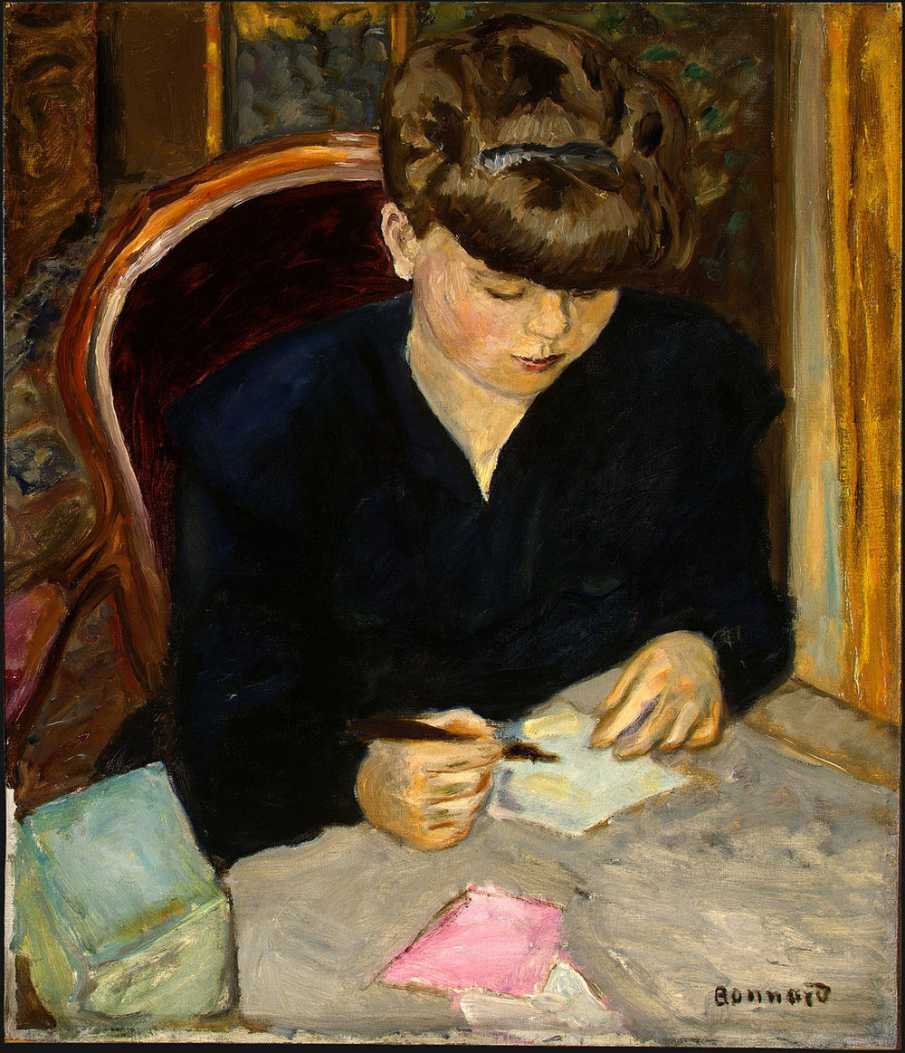 1024px-The_Letter,_Pierre_Bonnard,_c1906-PD-US-REFLECTION.jpg