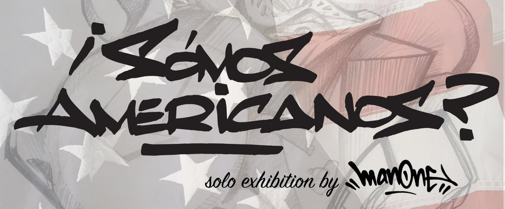 "Sanchez Contemporary presents Los Angeles-based graffiti artist, Man One exploring the question of the show's title: ""Are we American?"" The answer is no longer apparent. İSomos Americanos? showcases an entirely new body of work consisting of mixed media pieces on wood and mixed mediums including oil, crayons, pencils,  spraypaint,  markers,  and acrylic. ""I've had this concept in my head for a while of wanting to create portraits of different aspects of America using all different mediums which is really pushing my comfort zone and inspiring me to make new work. I'm usually known for more tight paintings, but in this show,  I preferred it to be very loose and emotional. It's abstract. I can't say there's any realism in it. These are portraits, but not necessarily in the traditional sense. I'm painting on wood so I can really jab into them with brushes and other painting tools. The work is very textural in a way I haven't done before. People may be surprised this came from me but that's kind of the point. Success for me is in the process, stepping up to the canvas with the concept of what I want to do and just expressing it right there in the moment with each piece. Then I'm done. I just walk away from the work and not have any judgement."" The past year has been foundation-shifting for Man One's personal life, not dissimilar to the tumultuous and disorienting changes we've seen across our nation as result of the presidential election. For over a decade, Man One has been as much of a businessman as he has an artist, co-founding the iconic Crewest Gallery (now turned Crewest Studio) and leading a global creative agency. İSomos Americanos? is Man One getting back to basics as an artist and taking a break from commercial concerns so he can say what he needs to say. www.ManOne.com               Follow IG: @ManOneArt   @SanchezContemporary #somosamericanos #sanchezcontemporary"