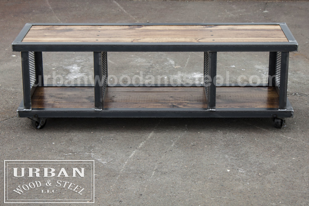 Copley Urban Industrial Coffee Table