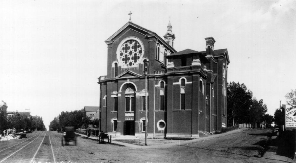 The first Cathedral, 1885