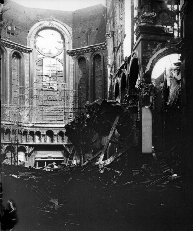 The first Cathedral, after the 1903 fire