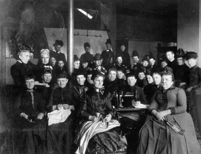 The Cathedral Aid Society, 1886