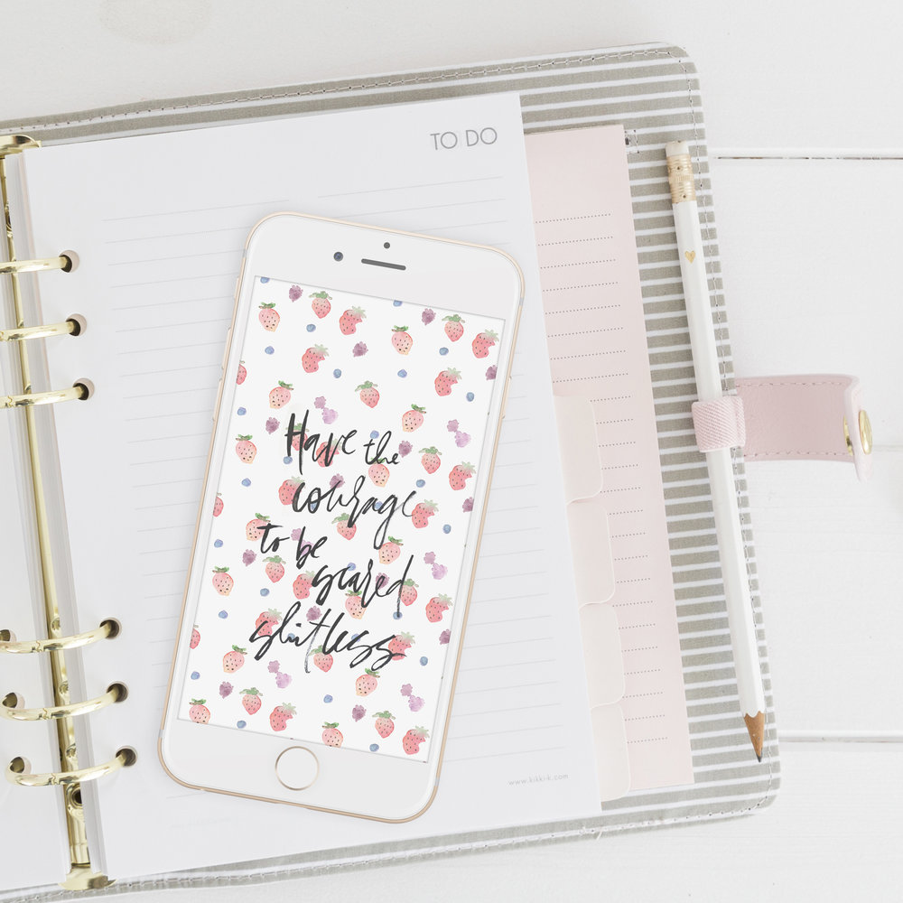 Printables + Downloads  - Digital shit like wallpapers and printable planners