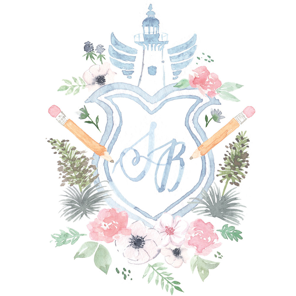 You Crest Believe It - What's a wedding crest, you ask? Well it's like a monogram, but so much better. Read about it in our blog here.It's the perfect personal design detail for DIY brides who want to design their own invitation, or for creative couples who want a design that's truly unique.Read about the couple that inspired this design.