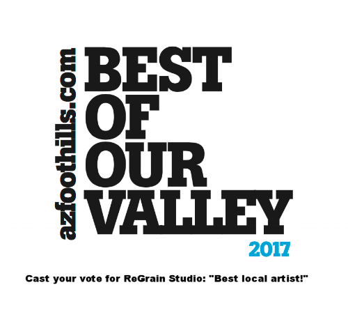 ReGrain Studio was nominated for best local Artist!