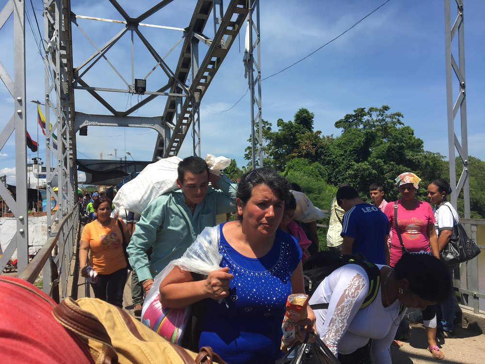 Booming business on Venezuela's 'wild' border  Welcome to Puerto Santander, the unregulated border town on the Venezuela-Colombia border where people get what they need and get out.