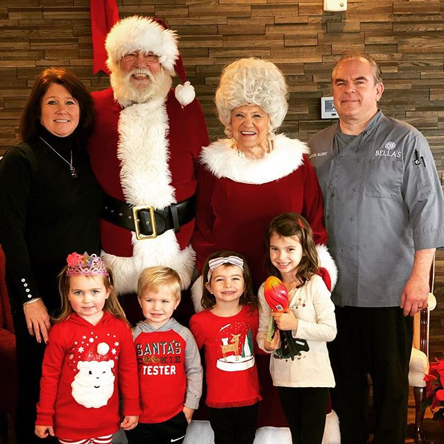 Santa & Mrs Claus! #christmas2018