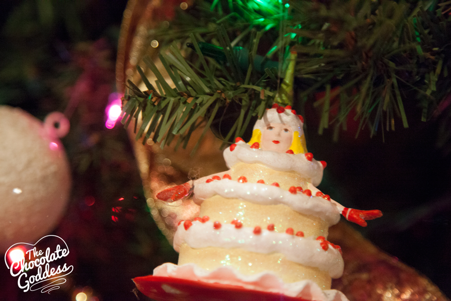 A fun Cake Lady ornament!