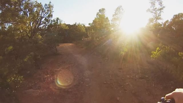 Golden hour bike park laps are a nice way to end the day. #prosauce #teamrudeboy303 #reebcycles #sedonabikepark #lightbro #goldenhour 📸: @adam_prosise
