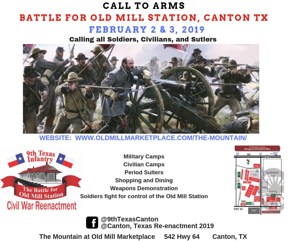 Civil War Reenactment - Battle for Old Mill Station — Visit