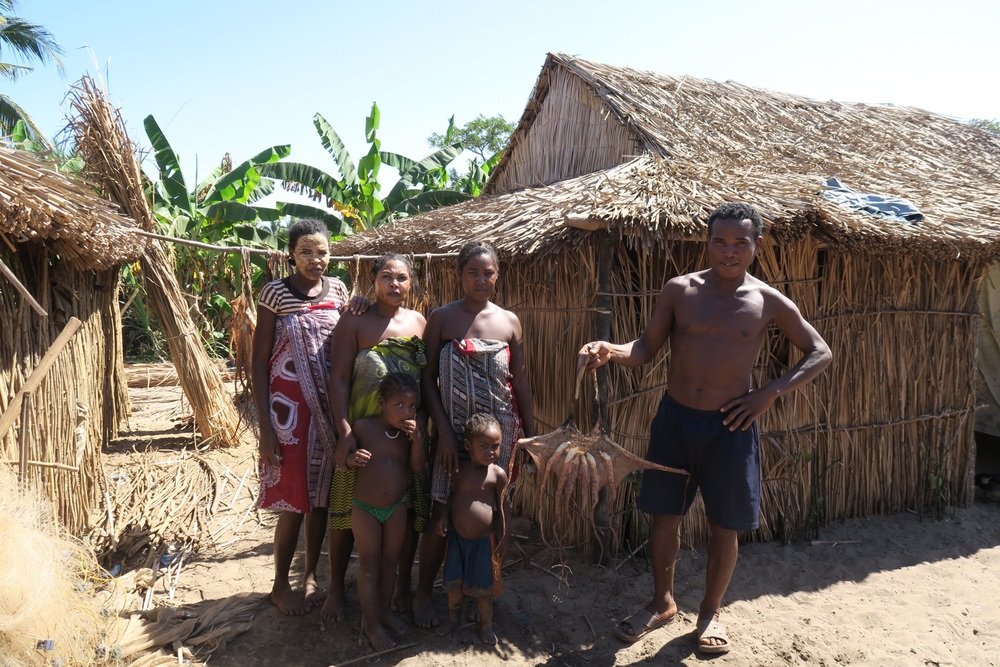 Malama and his family