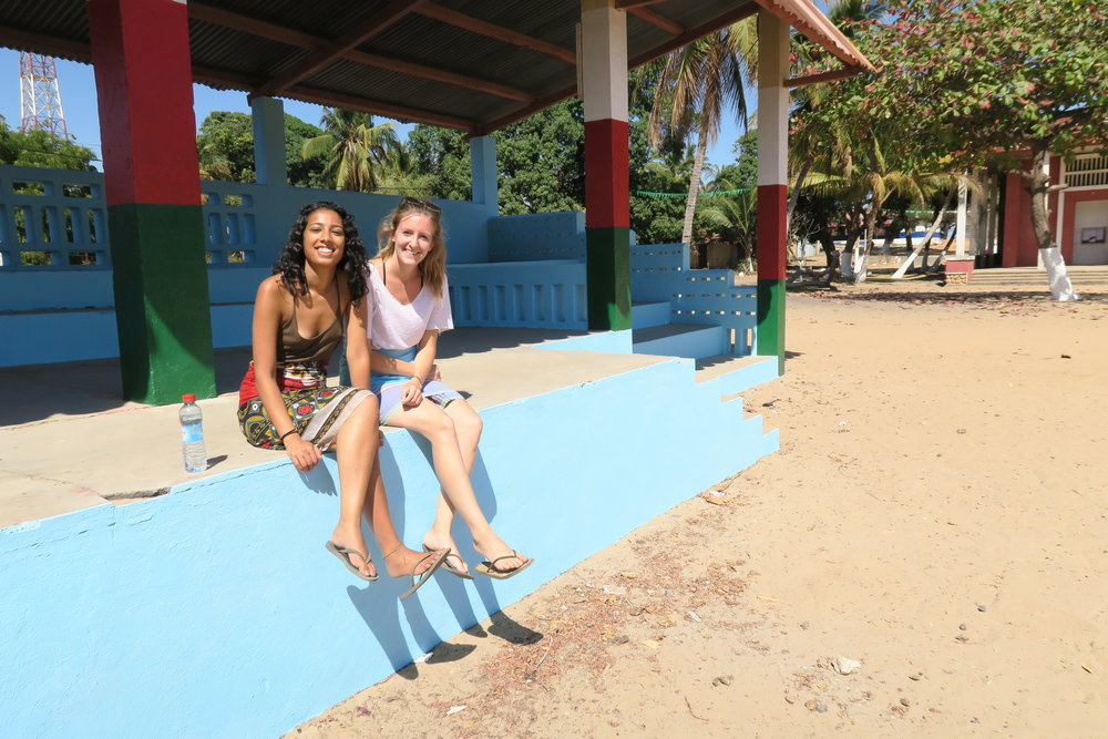 Pritika and Alex in Madagascar, 2016.