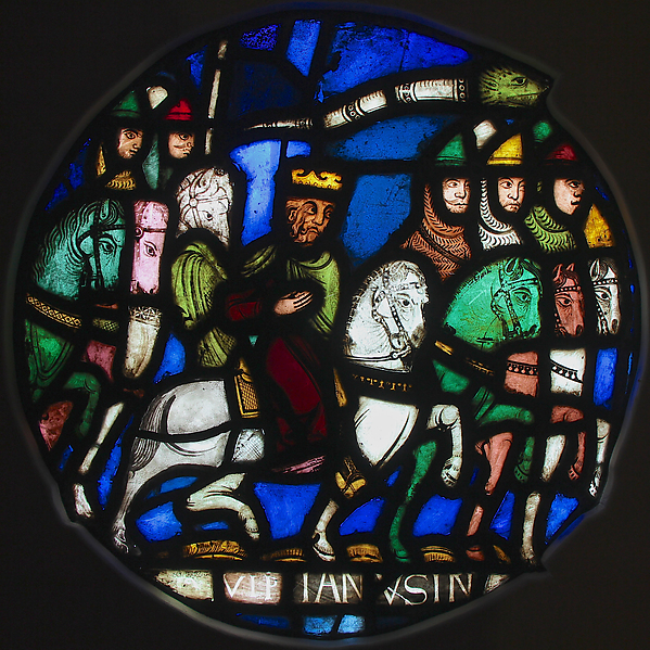 Crusaders Advance on Jerusalem (ca. 1158, France. From the Glencairn Museum, Pennsylvania)