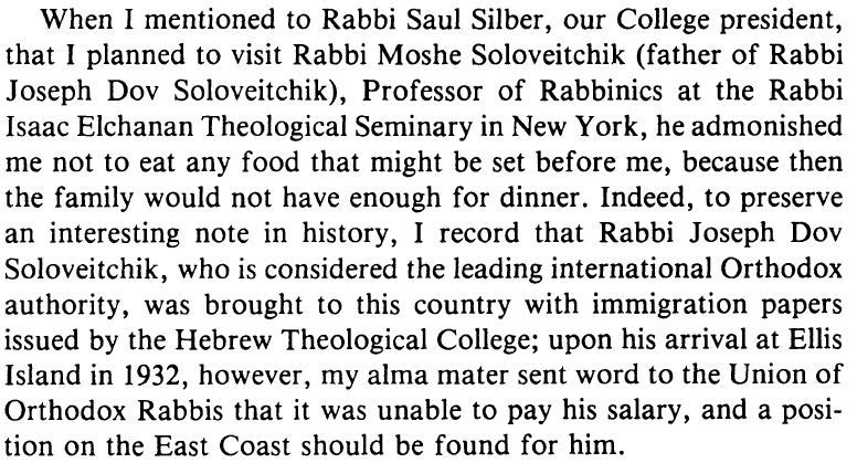 """Oscar Z. Fasman, """"After Fifty Years, an Optimist,"""" American Jewish History69 (December 1979): 160."""