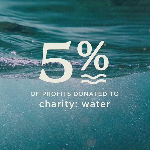 Another exciting announcement!!! 💙 This is something I've been dreaming of for a while now. As of TODAY, 5% of our profits will be donated directly to charity:water! Charity:water uses 100% of donations to bring clean and safe drinking water to people in developing countries. 2019 is the year of giving, and we can't wait to help support this amazing organization! . . #charitywater #donation #giving #kindness #compassion #cleanwater #etsy #etsyseller #milwaukee #mke #newyear #shopsmall #shoplocal #smallbusiness #donate #giveback