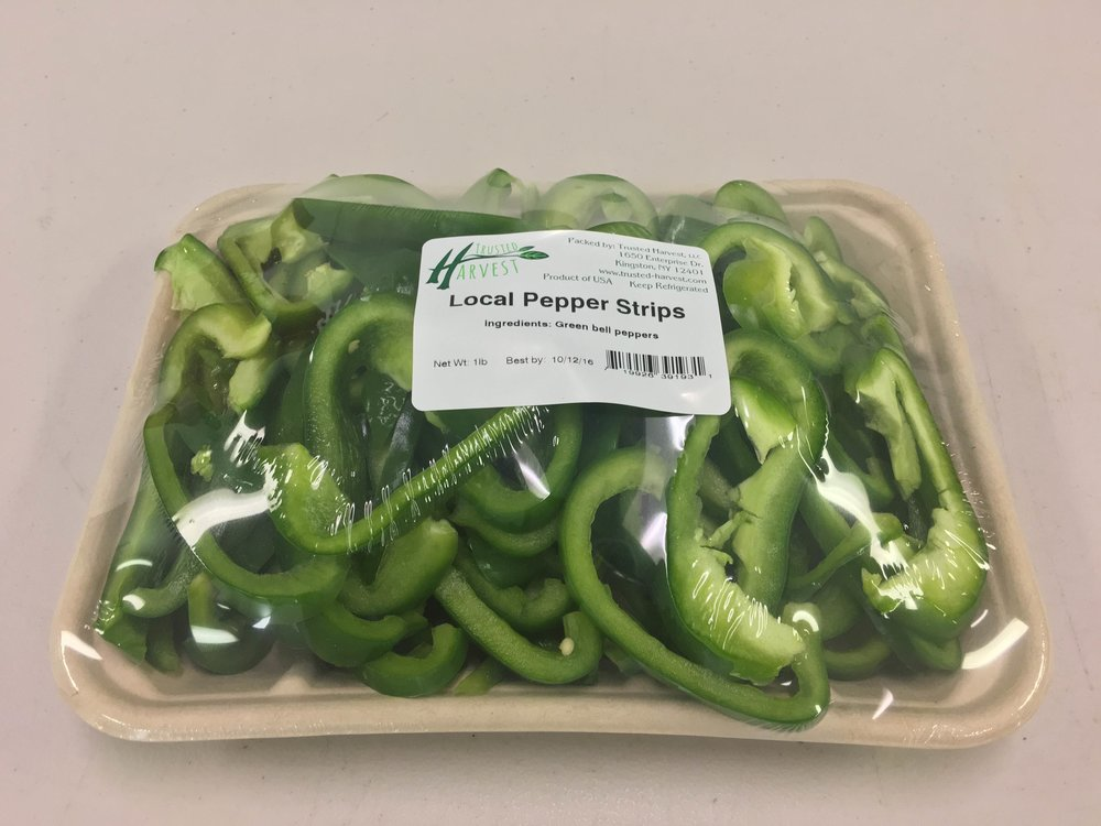 Sweet Pepper Strips