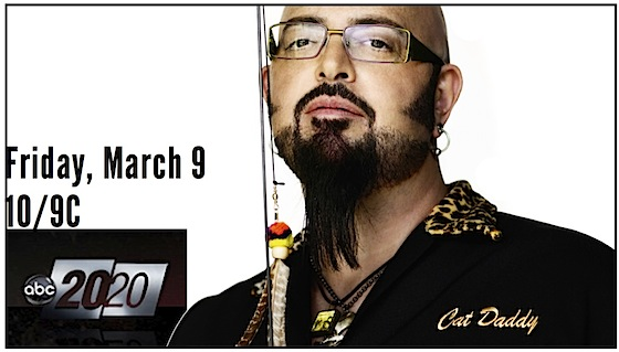 Jackson Galaxy on ABC TV's 20/20 Fri., Mar. 9, 2012, 10/9 Central