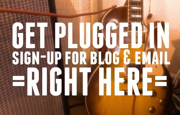 email and blog sign-up slider