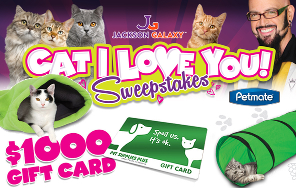 Pet Supplies Plus sweepstakes slider