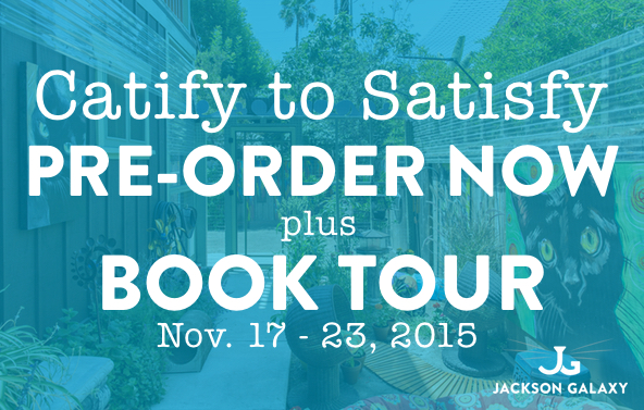 Catify To Satisfy preorder booktour