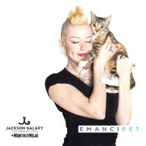 ladyandcat