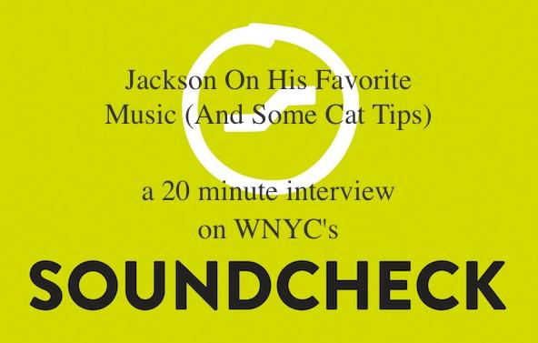 Soundcheck WNYC