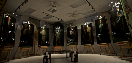 Guardians of the Everglades Showroom ©Connie Bransilver