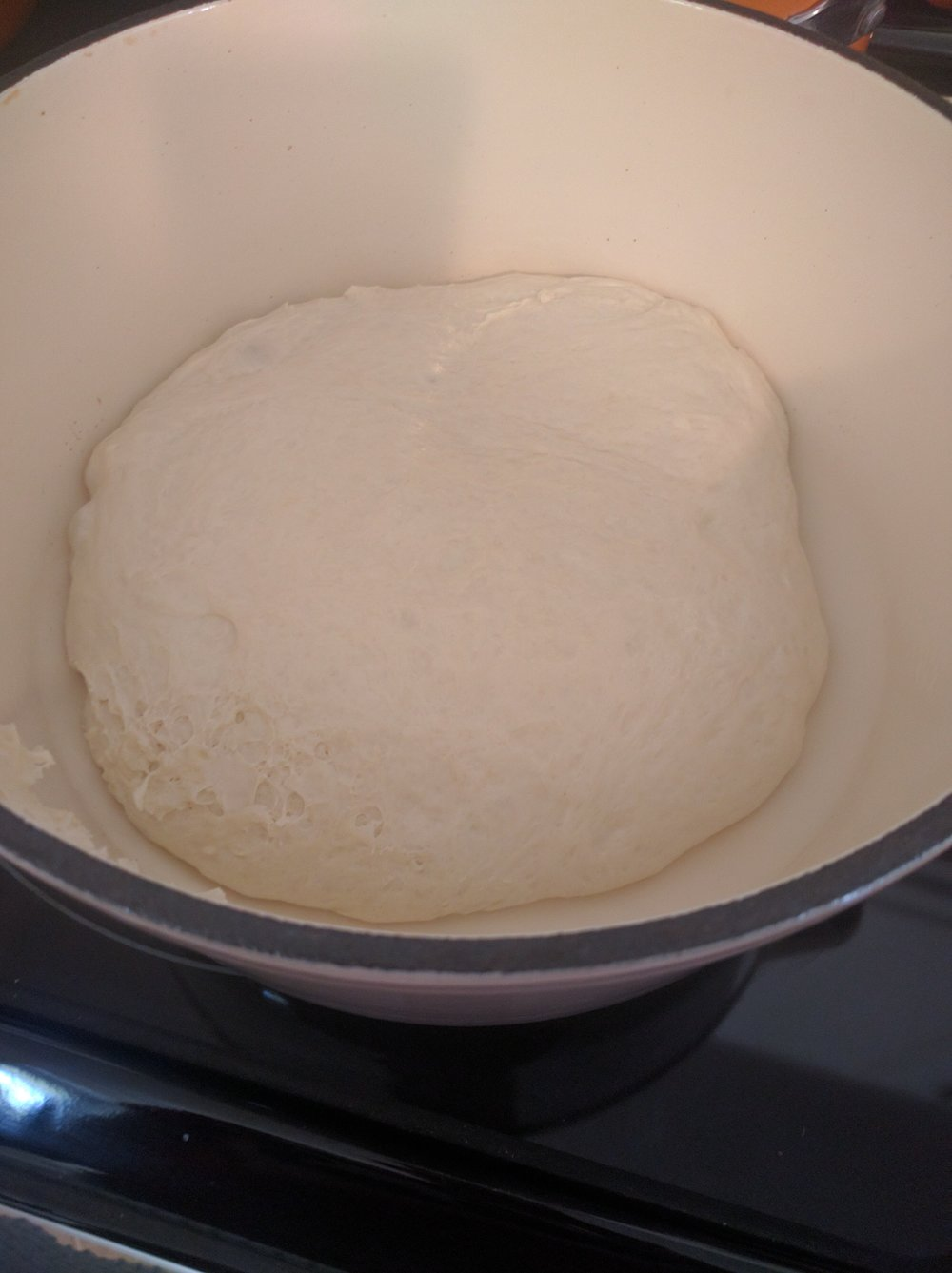 Goodbye dough ball, hello oven!