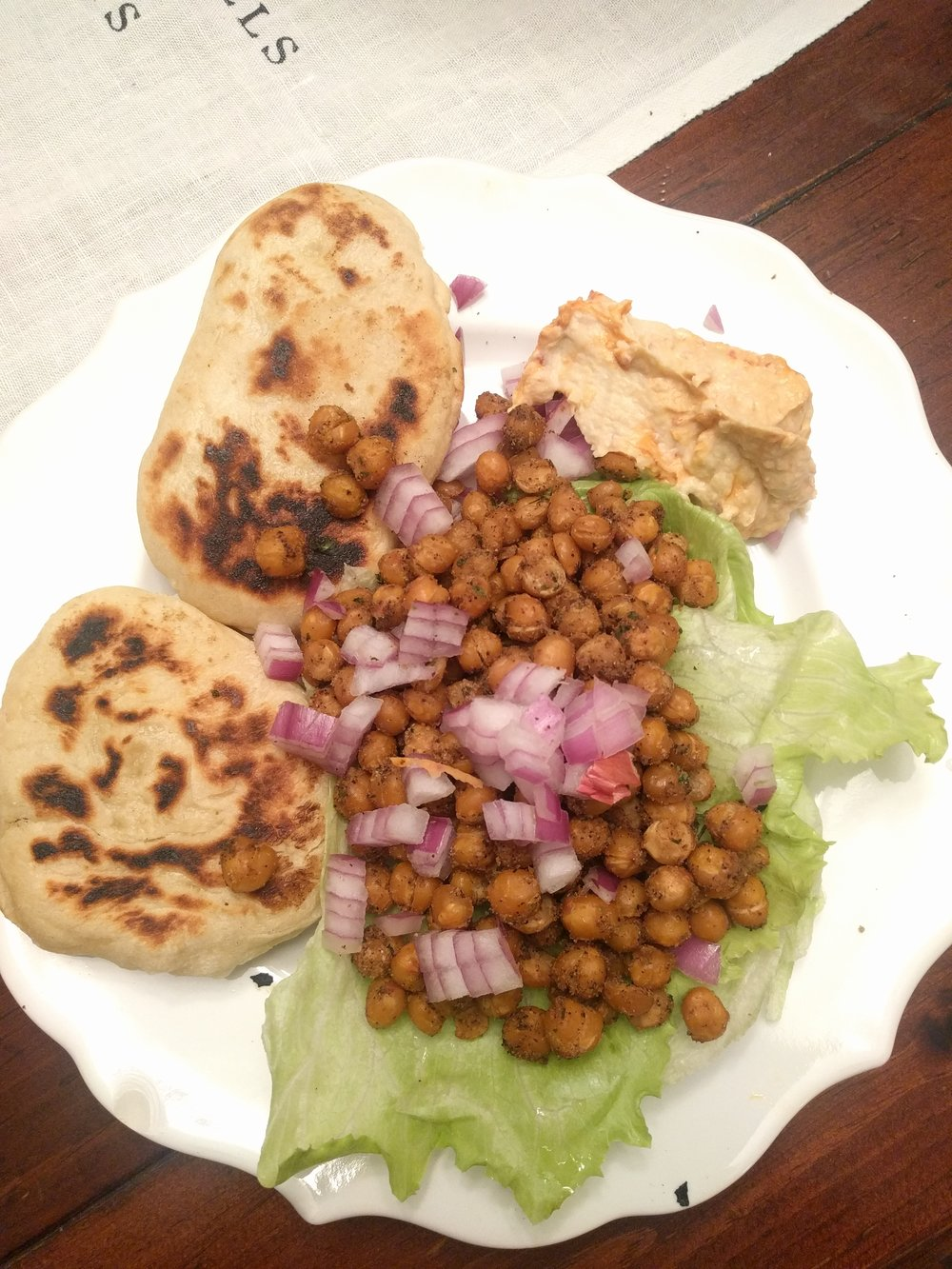 Matthew didn't know what he was missing! Chickpeas > Chicken