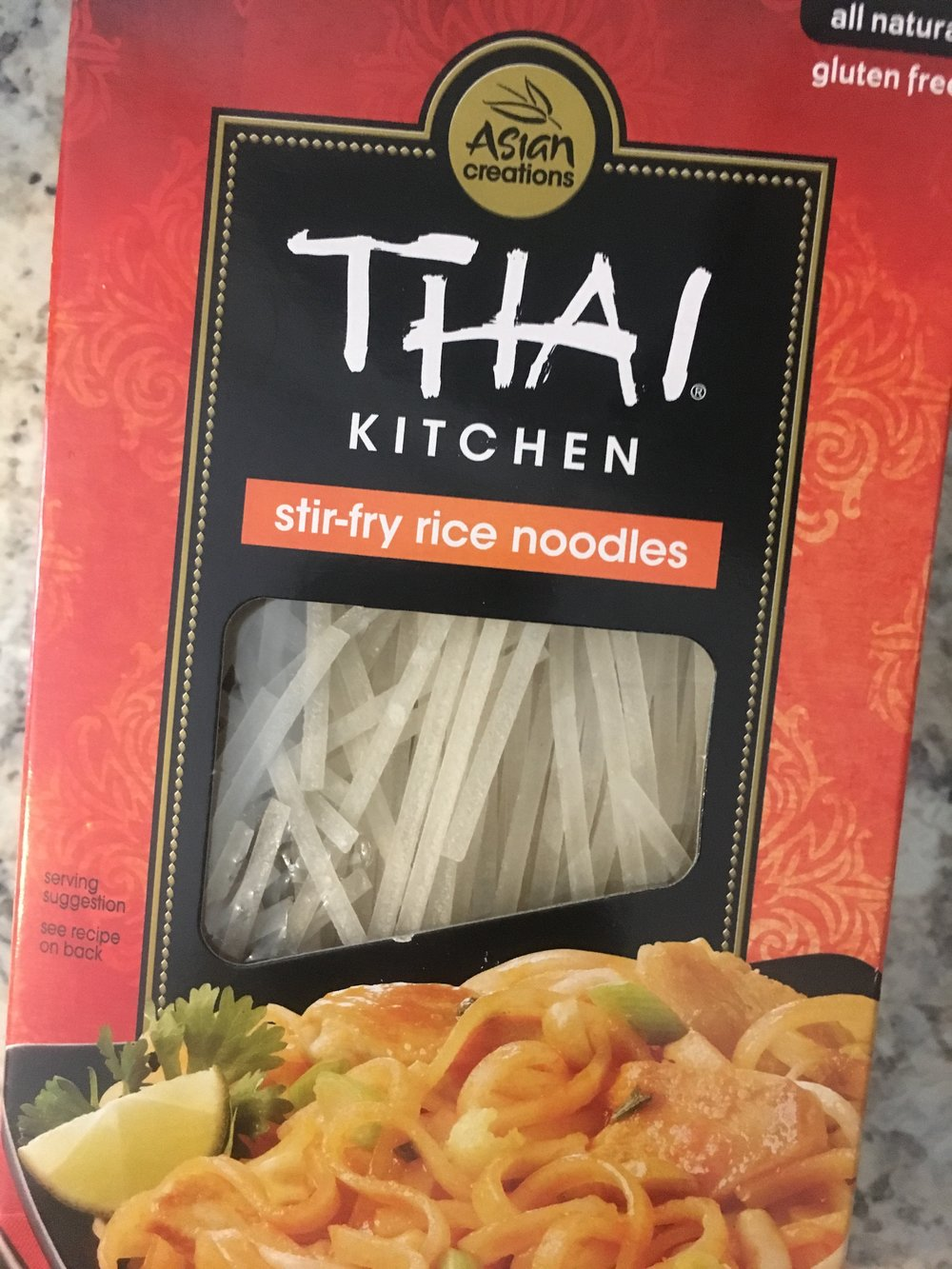 Holy moly these sticky noodles were the perfect pairing for the turkey mixture.