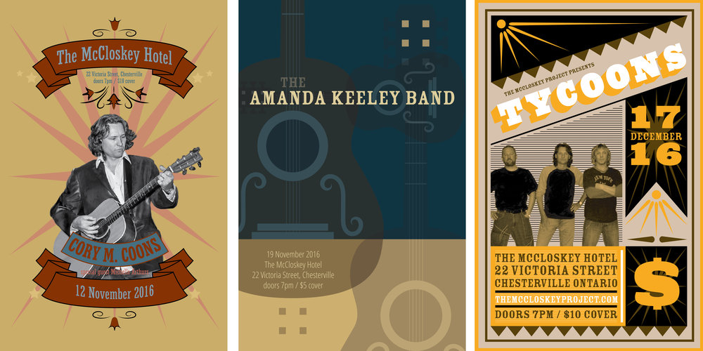 McCloskey Project Posters
