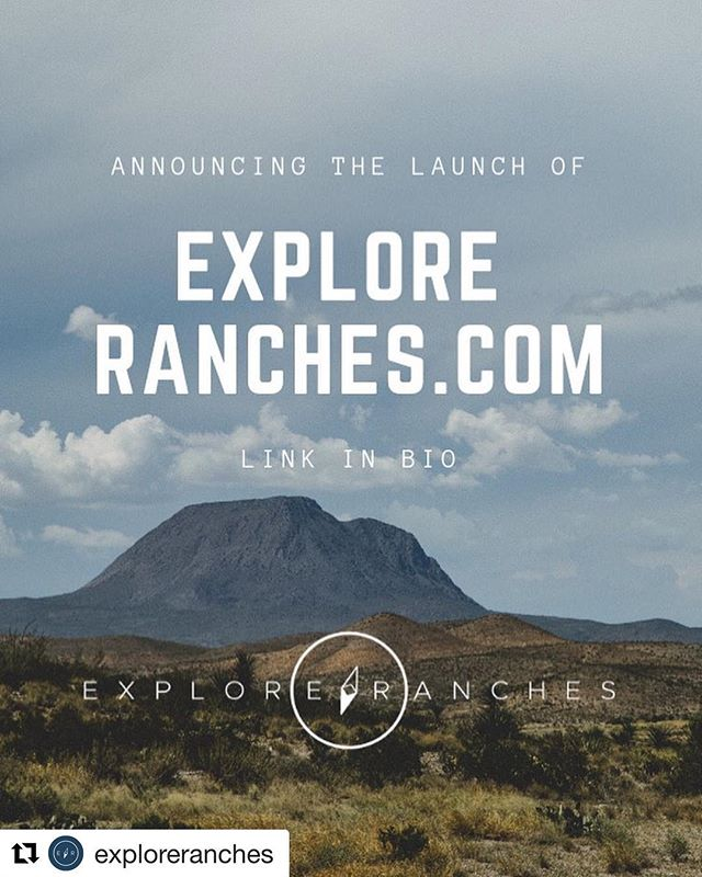 I'm excited to announce that @exploreranches has officially launched! A lot of hard work from a lot of awesome people has gone into bringing this thing to life, and I've had a blast in being a small part of it. Head over to their website and see all they have to offer! • • #exploreranches #travel #wander #vacation #explore #traveler #travels #travelphotography #wanderlust #explorer #getaway #getoutside #texasranches #traveltexas #nature #adventure #landscape #outdoors #hiking #texas #texasranches #westtexas #launch