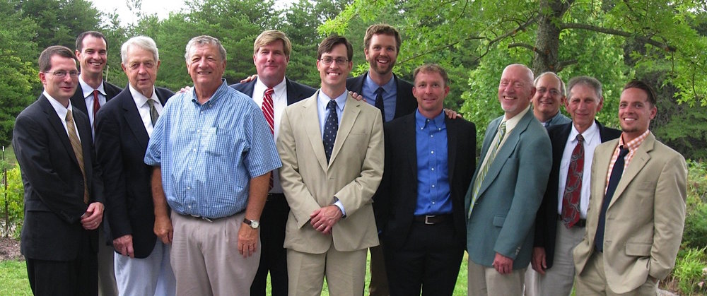 Elders of Rock Creek Fellowship: Thomas Hayes, Kyle Taylor, Henry Henegar, Don Dutton, Eric Youngblood, Scott Jones, Corby Shields, John Conrad, Sandy Shaw, Dave Worland, Kelly Gilbert, Matt Jelley. Not pictured: Dave Boozer, Ron Jones