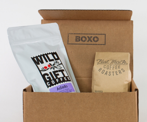 BOXO Coffee Monthly Subscription: Various Prices