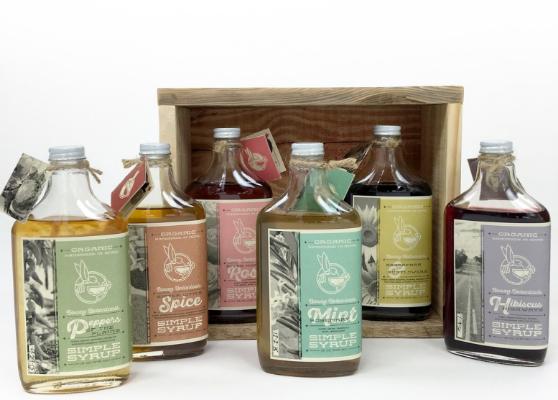 Boozy Botanicals Simple Syrup: $18