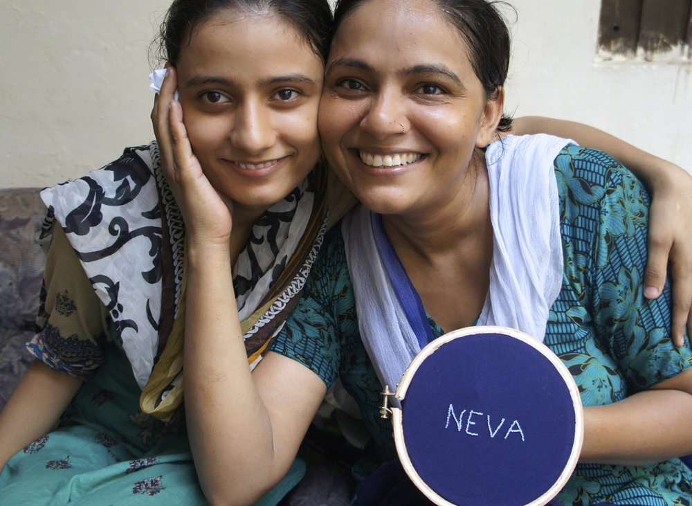 Two of the Neva Artisans from South Asia