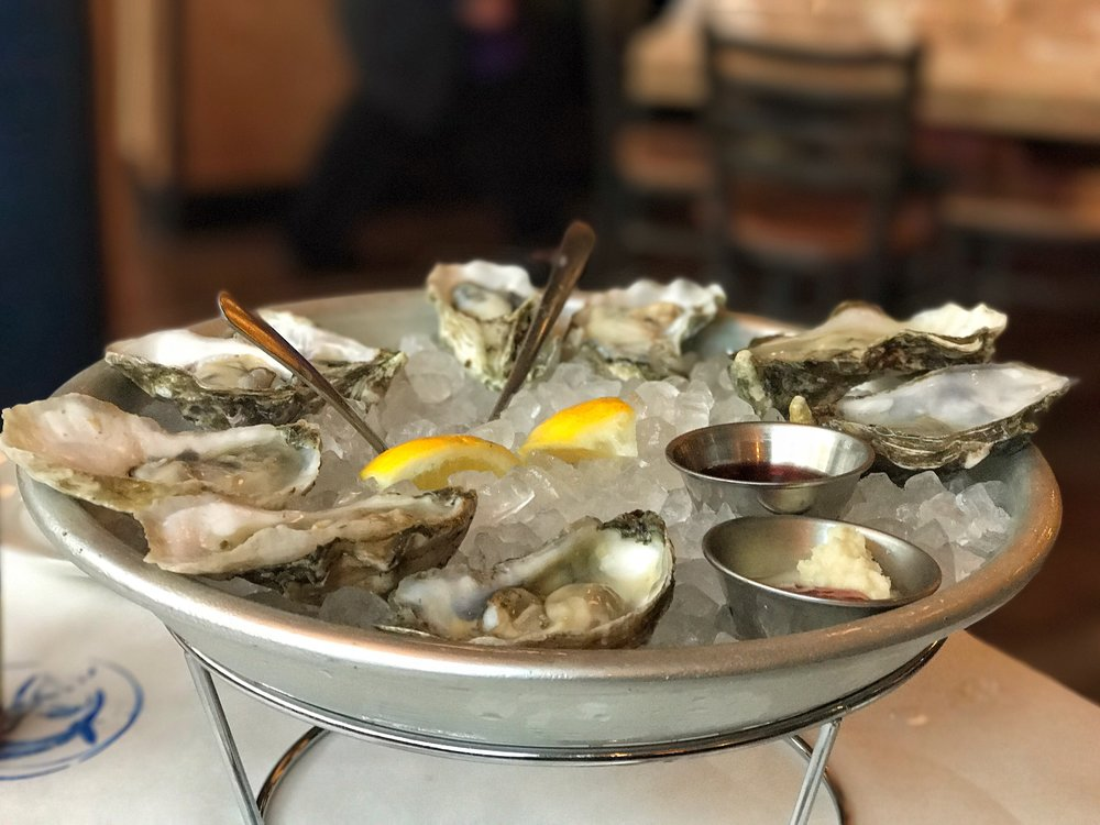 Assorted Oysters from the East and West Coasts